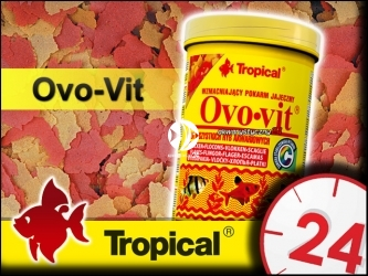 TROPICAL OVO-VIT 185g/1L - Uzupełniający, wysokoenergetyczny pokarm z dodatkiem żółtek jaj
