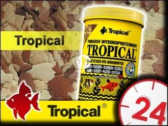 TROPICAL TROPICAL 185g/1L - Wysokobiałkowy, podstawowy pokarm płatkowany