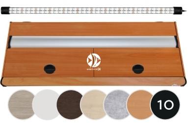 DIVERSA Pokrywa Platino LED 150x50cm (1x36W) (117207) - Aluminiowa obudowa z oświetleniem LED