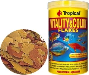 TROPICAL Vitality & Color - Wysokobiałkowy, wybarwiający pokarm płatkowany z astaksantyną