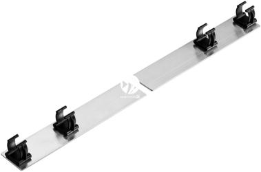 DIVERSA Mocowanie do Pokryw Platino LED Expert 80, 100 (120134) - Dodatkowy uchwyt na świetlówkę LED Expert do aluminiowej obudowy Platino