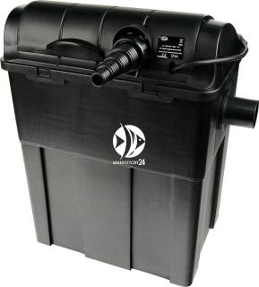 AQUA NOVA Pond Filter NUB-9000 + UV (NUB-9000) - Filtr przelewowy z lampą UV do oczka wodnego