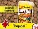TROPICAL SUPERVIT - Wieloskładnikowy, podstawowy pokarm płatkowany z beta-glukanem TABLETS B 50g