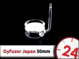 SZKLANY DYFUZOR CO2 (Japan) 50mm