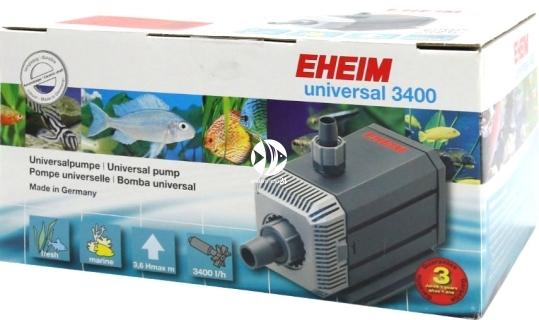 EHEIM Universal 3400 (1262210) - Pompa obiegowa do akwarium przeznaczona do długiej i nieprzerwanej pracy