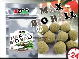 AZOO MAX BIO BALL (AZ40021) - Pożyteczne bakterie rozkładające trujące związki azotu