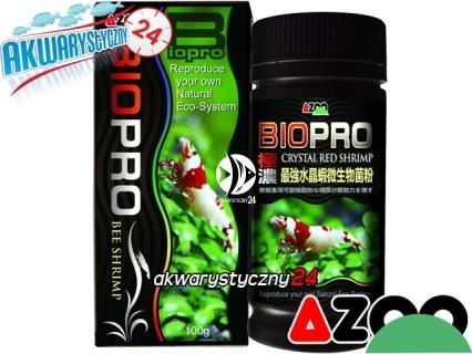AZOO Crystal Red Shrimp Biopro 100g (AZ40027) - Zaawansowany preparat bakteryjny poprawiający jakość wody w krewetkarium