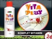 AZOO VITA PLUS 120ml - Skuteczny preparat witaminowy dbający o zdrowie krewetek.