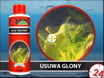 AZOO ALGAE TREATMENT - Skuteczny preparat na glony w akwarium.