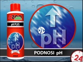 AZOO pH PLUS 500ml - Bezpieczny preparat do podwyższania pH w akwarium