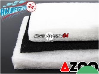 AZOO DUAL ACTIVE CARBON SPONGE - Mechaniczno-chemiczny wkład (wata) do filtra w akwarium wykonany z włókniny