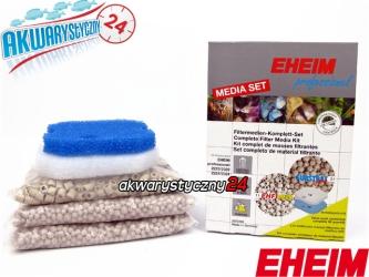 EHEIM PROFESSIONEL 2224/2324 Media Set (2522240) | Komplet wypełnień do filtra Eheim Professionel 2222/2224 i do termofiltrów 2232/2234