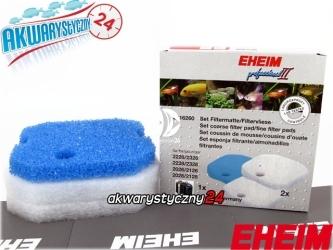 EHEIM PROFESSIONEL 2228/2328 (2616260) | Komplet gąbek do filtra Eheim Professionel 2226/2228 i termofiltrów 2326/2328 (biała + niebieska)
