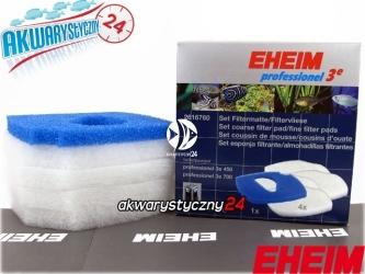 EHEIM PROFESSIONEL 3e 2076 (2616760) | Komplet gąbek do filtra Eheim Professionel 3e 2076/2078 (biała + niebieska)