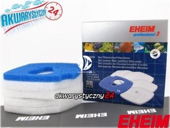 EHEIM PROFESSIONEL 3 2080/2180 (2616802) | Komplet gąbek do filtra Eheim Professionel 3 2080 i termofiltra 2180 (biała + niebieska)