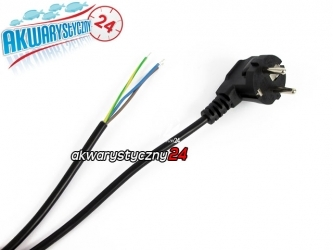 Przewód (kabel) zasilający 3-żyłowy 2m