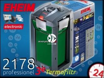 EHEIM PROFESSIONEL 3e 2178 (2178010) | Elektroniczny filtr zewnętrzny z grzałką do akwarium 300-600l