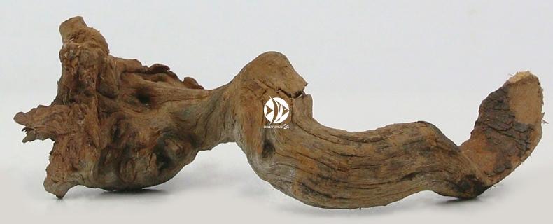 AQUAWILD Dark Old Wood 1kg - Stare, ciemne korzenie do akwarium roślinnego