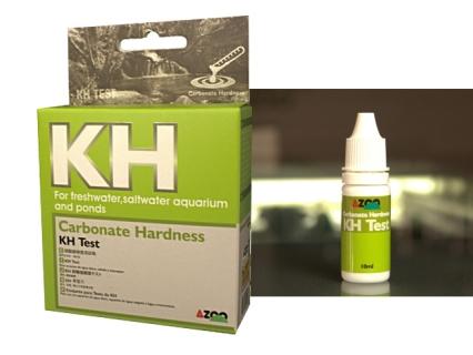 AZOO KH TEST - Test twardości węglanowej (KH) do akwarium słodkowodnego i morskiego
