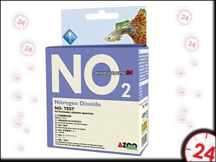 AZOO NO2 TEST - Test na azotyny do akwarium słodkowodnego i morskiego