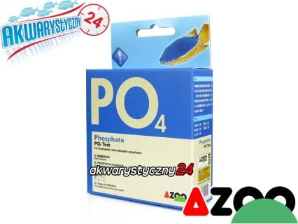 AZOO PO4 TEST - Test na fosforany do akwarium słodkowodnego i morskiego