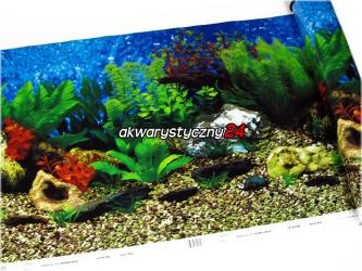 PENN PLAX Foto tapeta do akwarium (wysokość 48cm) nr.8 - Tło dwustronne