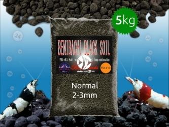 BENIBACHI Black Soil 5kg [Normal, Fulvic] | Japońskie podłoże dla wysokich klas krewetek