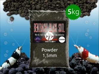BENIBACHI Black Soil 5kg [Powder] | Japońskie podłoże dla wysokich klas krewetek