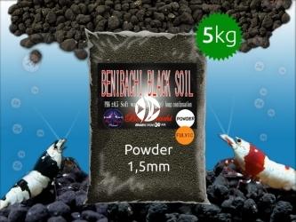 BENIBACHI Black Soil 5kg [Powder, Fulvic] | Japońskie podłoże dla wysokich klas krewetek