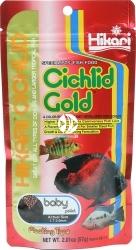HIKARI Cichlid Gold (04111) - Pokarm wybarwiający dla pielęgnic i innych ryb tropikalnych najwyższej jakości