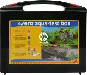 SERA Aqua-Test Box + Cu - Zestaw testów do akwarium słodkowodnego