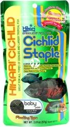 HIKARI Cichlid Staple Baby (03111) - Pokarm dla pielęgnic i innych ryb tropikalnych