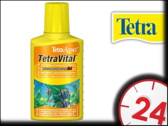 Tetra TetraVital 100ml - Zwiększa witalność, wspomaga dobre samopoczucie ryb tropikalnych.
