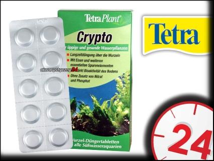 TETRA Crypto 10 tabletek - Nawóz w tabletkach do korzeni zapewniający bujny i zdrowy wzrost roślin akwariowych.