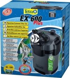 TETRA EX 600 plus | Filtr zewnętrzny do akwarium 60-120l