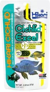 HIKARI Cichlid Excel (14211) - Pływający pokarm dla pielęgnic i innych ryb roślinożernych