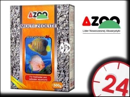 AZOO MULTI-ZEOLITE 500g - Wkład absorbuje i usuwa substancje toksyczne, oczyszcza wodę.