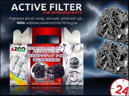 AZOO ACTIVE FILTER Far Infrared Rays (AZ16067) - Znacząco poprawia jakość wody promując zdrowie i witalność ryb w akwarium