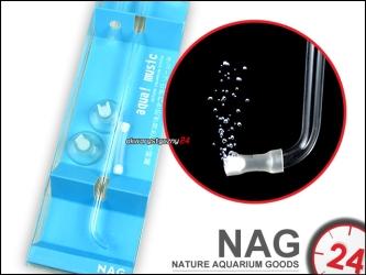 NAG AIR PIPE DIFFUSER (Mini) - Estetyczny dyfuzor tlenu z najmniejszym na świecie kamieniem napowietrzajacym