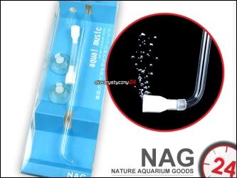 NAG Air Pipe Diffuser (S) - Estetyczny dyfuzor tlenu zawieszany na szybę