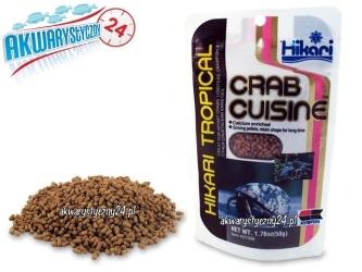 HIKARI CRAB CUISINE 50g - Specjalistyczny pokarm dla krabów i innych skorpiaków