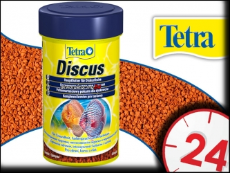 TETRA DISCUS 100ml - Pokarm podstawowy dla dyskowców w postaci granulek.