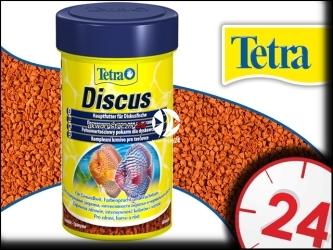 TETRA DISCUS 250ml - Pokarm podstawowy dla dyskowców w postaci granulek.