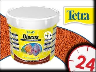 TETRA DISCUS 10l (Wiadro) - Pokarm podstawowy dla dyskowców w postaci granulek.