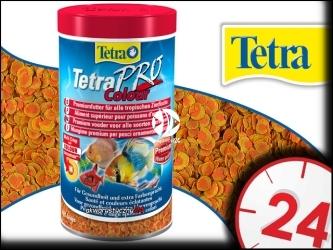 TETRA PRO COLOR 250ml - Pokarm dla wszystkich gatunków ryb ozdobnych zapewniający bardziej intensywne ubarwienie