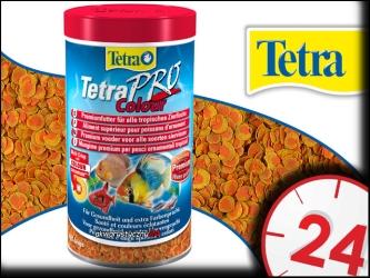 TETRA PRO COLOR 500ml - Pokarm dla wszystkich gatunków ryb ozdobnych zapewniający bardziej intensywne ubarwienie