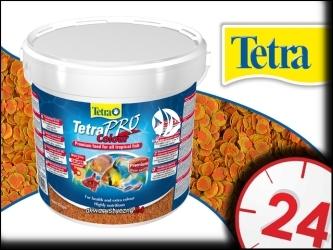 TETRA PRO COLOR 10l - Pokarm dla wszystkich gatunków ryb ozdobnych zapewniający bardziej intensywne ubarwienie