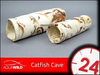 AQUAWILD CATFISH CAVE (Sand) - Grota ceramiczna dla sumów i zbrojników