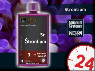 AQUARIUM SYSTEMS Strontium 250ml - Suplement strontu w płynie