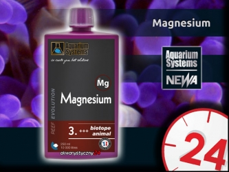 AQUARIUM SYSTEMS Magnesium 250ml - Suplement magnezu w płynie